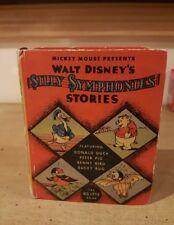 Walt Disney's Silly Symphonies Stories #1111 Big Little Book 1936