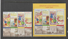 Philippine Stamps 2009 Baguio Centennial Complete Set Mint Never Hinged