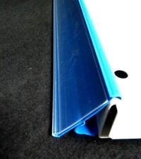 10x PREISLEISTEN 125cm NEU TEGO KIND LINDE BLAU SCANNERLEISTEN SCHLECKER REGALE
