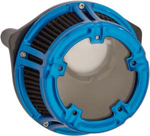 Arlen Ness Method Clear Sucker Air Cleaner Kits Blue 18-181