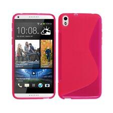 Para HTC Deseo ojo TPU S-LINE Silicona GEL Funda