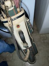 Vintage Voit Golf Clubs Imperial Wilson And InDestructo Bag Some Unused