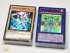 Yugioh GX! Complete Jaden Yuki Elemental HERO Deck! Neos Knight + Divine Neos!