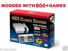 Nintendo NES Classic Edition MODDED HACKED 800+ Games Tecmo Bowl - Free Shipping