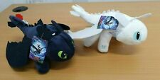 How To Train Your Dragon 3 30cm Toothless Night Fury Light Fury Plush Doll AU