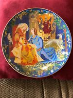 Anna Perenna Lancelot and Guinevere 2nd Art Plate in Romantic Loves Series