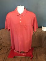 nwot Mens Polo Shirt Short Sleeve Large Cypress Club Cotton Polyester Size XL
