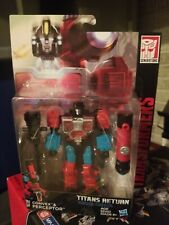 Transformers Titans Return PERCEPTOR w/ Convex Deluxe Figure  G1 New in USA