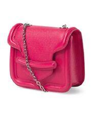 NWT Alexander Mcqueen Made In Italy Leather Heroine Crossbodyt  $1495.00