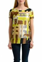 Dsquared2 100% Silk Multi-Color Sleeveless Women's Blouse Top US S IT 40
