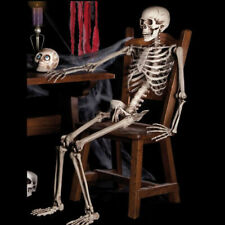 Halloween New Poseable Human Skeleton Size 38cm Party Decoration Prop