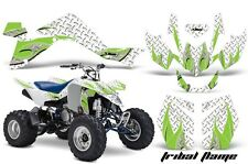 Suzuki LTZ 400 AMR Racing Graphic Kit Wrap Quad Decals ATV 2009-2012 TRIBAL GRN