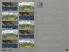 The Civil War 1861 Fort Sumter First Bull Run USPS Forever Stamp Sheet 12 Stamps