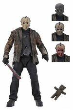 "Neca Freddy Vs. Jason Movie Jason Ultimate 7"" Action Figure Nib 2019"
