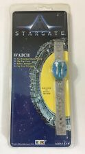 Stargate Pharaoh Watch Flip Top Cover Silver Colored Band Egyptian Vintage 1994