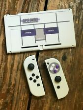 Nintendo Switch Controller Joy-Con Housing Shell Case FULL Custom Classic SNES