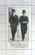 1931 Trade Commission Buenos Aires, A K Wilson, Cr Hodgson