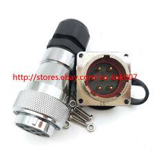 WS28 7pin Power Connector, Heavy Industrial Plug Socket, Metal 7pin Connector