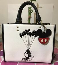 Loungefly Disney Mickey Mouse Balloons Satchel Handbag Crossbody Bag Tote NWT