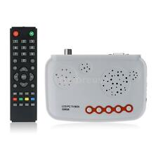 LCD VGA TV Box Analog Program Receiver Tuner CRT LCD Monitor HDTV 1920*1200 9T1Y