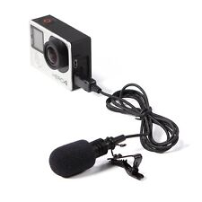 MK Pro Flexible Lavalier Microphone for Gopro Hero 3 3+ 4 Action Camera