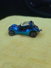 Hot Wheels Redline Sand Crab.  Blue with flowers 1969, USA