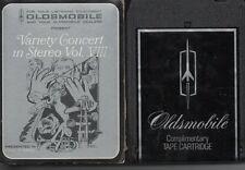 Oldsmobile 8 track tape 1973 variety concert in stereo vol VIII dealer demo nice