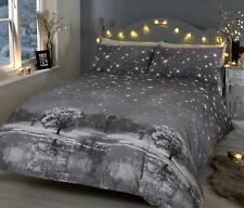 Starry Nights - Grey - Duvet Cover Set - Kingsize