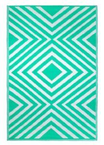 Water Resistant Indoor / Outdoor Rug 4' x 6' Polypropylene. Five Colors & Styles