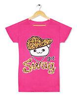 Girls Ladies Got Swag Hat Dope Top T-Shirt Hype Long Boss Urban Hip-Hop Tee Size
