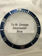 Inserto ghiera Omega Seamaster blue Bezel insert aftermarket parts watch