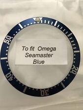 Inserto ghiera Omega Seamaster blue Bezel insert aftermarket parts watch