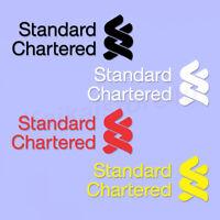 Liverpool Soccer Standard Chartered Jersey Sponsor Logo Iron-On Polyflex Print