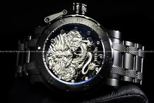 New Invicta Men's 52mm Coalition Forces Dragon Black and Silver Automatic Watch