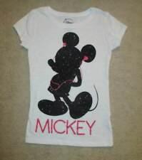 Disney Store Mickey Mouse T Shirt Glitter Headphones M 6