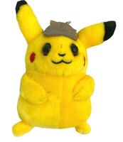 Pokemon Pikachu Detective Hat Plush Soft Toy 8 inch Christmas Gift