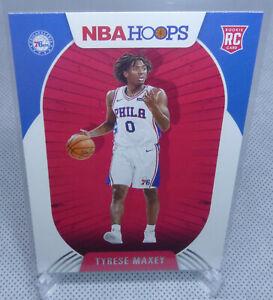 2020-21 Panini NBA Hoops Basketball Tyrese Maxey Rookie Card #207 SIXERS
