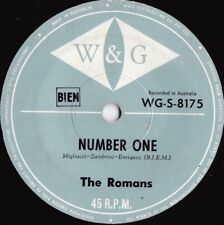 Romans Rare OZ Garage Beat Hammond 45 Number one VG+ '67 W&G WGS8175