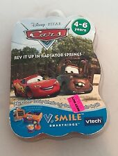 BNIB V TECH V SMILE SMARTRIDGE DISNEY CARS REV IT UP IN RADIATOR SPRINGS GAME