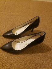 Anne Klein iflex black Patent Leather Stilettos Pumps Career Heels 9