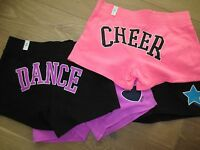 NWT Justice Girls Athletic Sports Cotton Shorts,Dance,Softball,Cheer sz 12,14,16