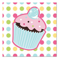 Cupcakes Party Party Napkins For Sale Ebay