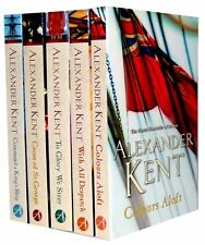 Alexander Kent Collection 5 Books Set New RRP