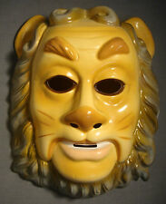 THE WIZARD OF OZ COWARDLY LION HALLOWEEN MASK PVC / PLASTIC