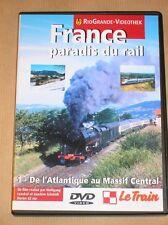 RARE DVD DOC / LE TRAIN / FRANCE PARADIS DU RAIL 1 / 62 MNS / TRES BON ETAT