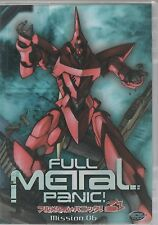 Full Metal Panic! Mission 06 - DVD Video - 72 Minutes - ISBN: 1-57813-489-7.