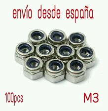 Tuerca autoblocante m3 (100 unidades)