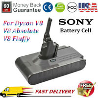 21.6V 4000mAh Li-Ion Battery For Dyson V8, V8 Absolute, Handheld Vacuum Cleaner