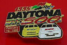 Used Enamel Pin Badge Daytona 500 Racing Race Cars Car February 19 1995
