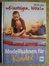 Modellbahnen für Kinder - Elektrische Eisenbahn Gleispläne Anlageformen Platz